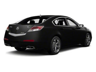 Crystal Black Pearl 2011 Acura TL Pictures TL Sedan 4D AWD photos rear view