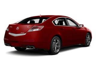 Basque Red Pearl 2011 Acura TL Pictures TL Sedan 4D Technology photos rear view