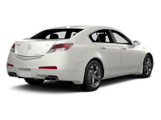 White Diamond Pearl 2011 Acura TL Pictures TL Sedan 4D Technology AWD photos rear view