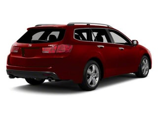 Basque Red Pearl 2011 Acura TSX Sport Wagon Pictures TSX Sport Wagon 4D Technology photos rear view