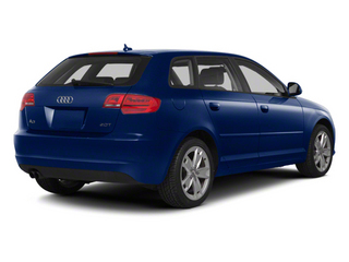 Scuba Blue Metallic 2011 Audi A3 Pictures A3 Hatchback 4D TDI photos rear view