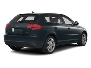 Meteor Gray Pearl 2011 Audi A3 Pictures A3 Hatchback 4D TDI photos rear view
