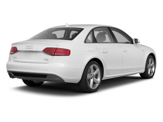 Ibis White 2011 Audi A4 Pictures A4 Sedan 4D 2.0T Quattro photos rear view