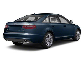 Night Blue Pearl 2011 Audi A6 Pictures A6 Sedan 4D 3.0T Quattro Premium Plus photos rear view