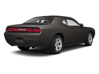 Dark Charcoal Pearl 2011 Dodge Challenger Pictures Challenger Coupe 2D SE photos rear view