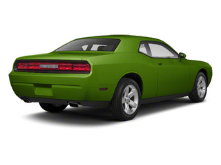 Green With Envy 2011 Dodge Challenger Pictures Challenger Coupe 2D SRT-8 photos rear view
