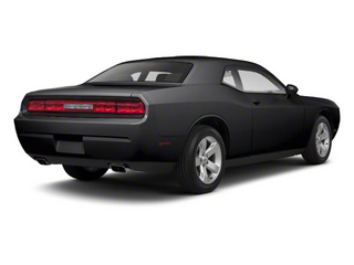 Black 2011 Dodge Challenger Pictures Challenger Coupe 2D SRT-8 photos rear view