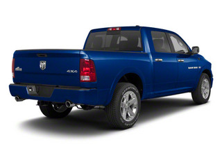 Deep Water Blue Pearl 2011 Ram Truck 1500 Pictures 1500 Crew Cab SLT 2WD photos rear view
