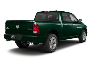 Hunter Green Pearl 2011 Ram Truck 1500 Pictures 1500 Crew Cab SLT 2WD photos rear view