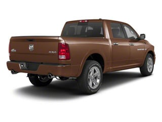 Saddle Brown Pearl 2011 Ram Truck 1500 Pictures 1500 Crew Cab SLT 2WD photos rear view