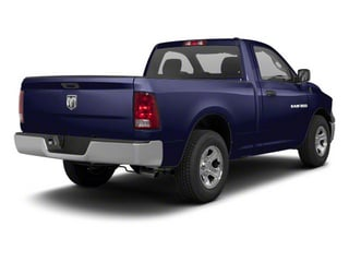 Midnight Blue Pearl 2011 Ram Truck 1500 Pictures 1500 Regular Cab Tradesman 4WD photos rear view