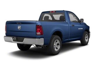 Deep Water Blue Pearl 2011 Ram Truck 1500 Pictures 1500 Regular Cab Tradesman 4WD photos rear view