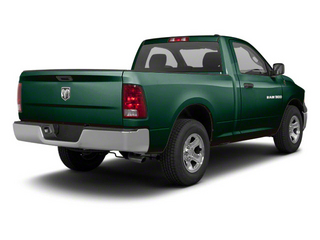 Hunter Green Pearl 2011 Ram Truck 1500 Pictures 1500 Regular Cab Tradesman 4WD photos rear view