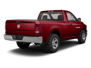 Deep Cherry Red Crystal Pearl 2011 Ram Truck 1500 Pictures 1500 Regular Cab Tradesman 4WD photos rear view