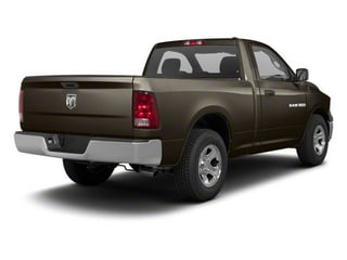 Rugged Brown Pearl 2011 Ram Truck 1500 Pictures 1500 Regular Cab Tradesman 4WD photos rear view