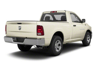 White Gold 2011 Ram Truck 1500 Pictures 1500 Regular Cab SLT 4WD photos rear view