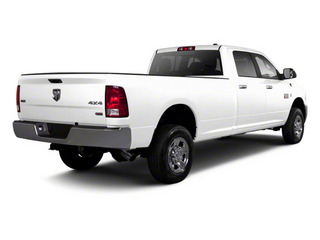 Bright White 2011 Ram Truck 2500 Pictures 2500 Crew Power Wagon 4WD photos rear view