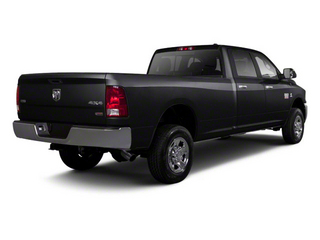 Brilliant Black Crystal Pearl 2011 Ram Truck 2500 Pictures 2500 Crew Power Wagon 4WD photos rear view