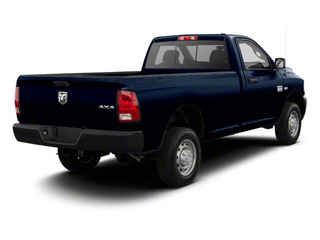 Deep Water Blue Pearl 2011 Ram Truck 2500 Pictures 2500 Regular Cab Outdoorsman 2WD photos rear view