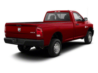 Deep Cherry Red Crystal Pearl 2011 Ram Truck 2500 Pictures 2500 Regular Cab Outdoorsman 2WD photos rear view