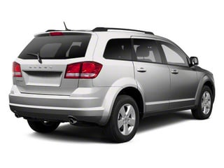 Bright Silver Metallic 2011 Dodge Journey Pictures Journey Utility 4D Mainstreet AWD photos rear view