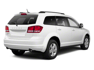 White 2011 Dodge Journey Pictures Journey Utility 4D Crew 2WD photos rear view