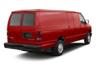 Vermillion Red 2011 Ford Econoline Wagon Pictures Econoline Wagon Super Duty Extended Wagon XLT photos rear view