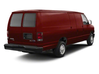 Royal Red Metallic 2011 Ford Econoline Wagon Pictures Econoline Wagon Super Duty Extended Wagon XLT photos rear view