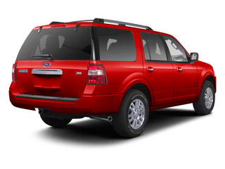 Vermillion Red 2011 Ford Expedition Pictures Expedition Utility 4D XL 2WD photos rear view