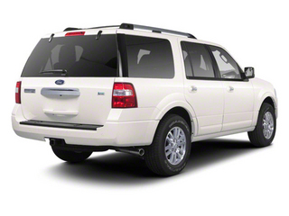 White Platinum Metallic Tri-Coat 2011 Ford Expedition Pictures Expedition Utility 4D King Ranch 2WD photos rear view