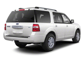 Oxford White 2011 Ford Expedition Pictures Expedition Utility 4D XL 2WD photos rear view