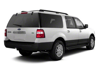 Oxford White 2011 Ford Expedition EL Pictures Expedition EL Utility 4D XL 4WD photos rear view