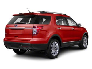 Red Candy Metallic Tinted Clearcoat 2011 Ford Explorer Pictures Explorer Utility 4D XLT 2WD photos rear view