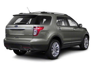 Sterling Grey Metallic 2011 Ford Explorer Pictures Explorer Utility 4D XLT 2WD photos rear view