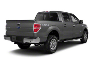 Ingot Silver Metallic 2011 Ford F-150 Pictures F-150 SuperCrew XLT 2WD photos rear view