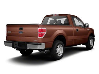 Golden Bronze Metallic 2011 Ford F-150 Pictures F-150 Regular Cab XLT 2WD photos rear view