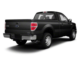 Black 2011 Ford F-150 Pictures F-150 Regular Cab XLT 2WD photos rear view