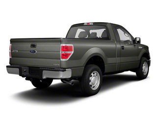 Sterling Gray Metallic 2011 Ford F-150 Pictures F-150 Regular Cab XLT 2WD photos rear view