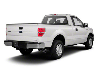 Oxford White 2011 Ford F-150 Pictures F-150 Regular Cab XLT 2WD photos rear view