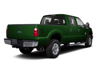 Forest Green Metallic 2011 Ford Super Duty F-350 DRW Pictures Super Duty F-350 DRW Crew Cab XL 2WD photos rear view