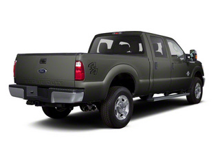 Sterling Gray Metallic 2011 Ford Super Duty F-350 DRW Pictures Super Duty F-350 DRW Crew Cab XL 2WD photos rear view