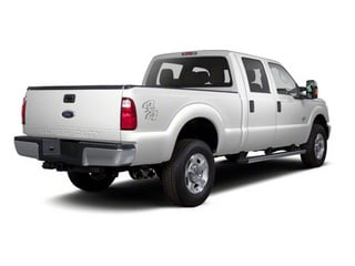 Oxford White 2011 Ford Super Duty F-350 DRW Pictures Super Duty F-350 DRW Crew Cab XL 2WD photos rear view