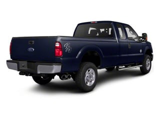 Dark Blue Pearl Metallic 2011 Ford Super Duty F-350 DRW Pictures Super Duty F-350 DRW Supercab XLT 2WD photos rear view