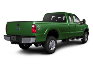 Forest Green Metallic 2011 Ford Super Duty F-350 DRW Pictures Super Duty F-350 DRW Supercab XLT 2WD photos rear view