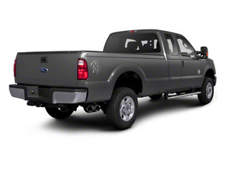 Sterling Gray Metallic 2011 Ford Super Duty F-350 DRW Pictures Super Duty F-350 DRW Supercab XLT 2WD photos rear view