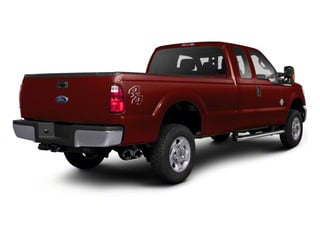 Royal Red Metallic 2011 Ford Super Duty F-350 DRW Pictures Super Duty F-350 DRW Supercab XLT 2WD photos rear view