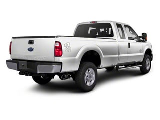 Oxford White 2011 Ford Super Duty F-350 DRW Pictures Super Duty F-350 DRW Supercab XLT 2WD photos rear view