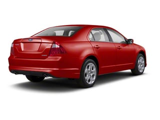 Red Candy Metallic Tinted 2011 Ford Fusion Pictures Fusion Sedan 4D Hybrid photos rear view