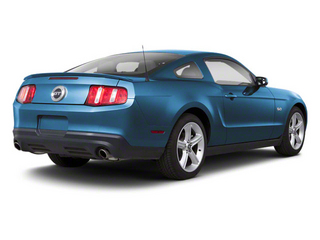 Grabber Blue 2011 Ford Mustang Pictures Mustang Coupe 2D Shelby GT500 photos rear view