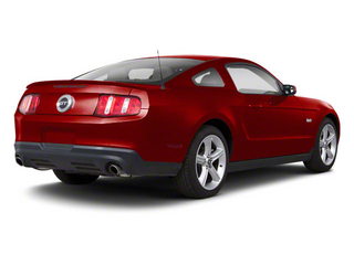 Red Candy Metallic 2011 Ford Mustang Pictures Mustang Coupe 2D GT photos rear view